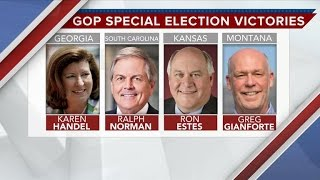 Behind the GOP sweep in House special elections