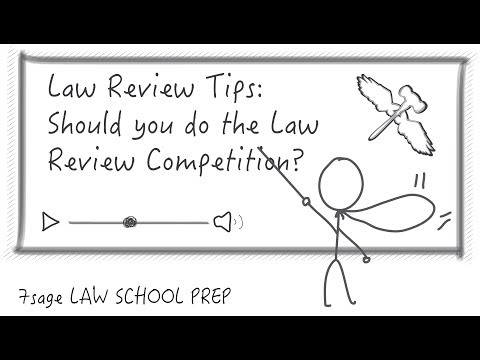 Why Should I do the Write-On Competition for Law Journal or Law Review?