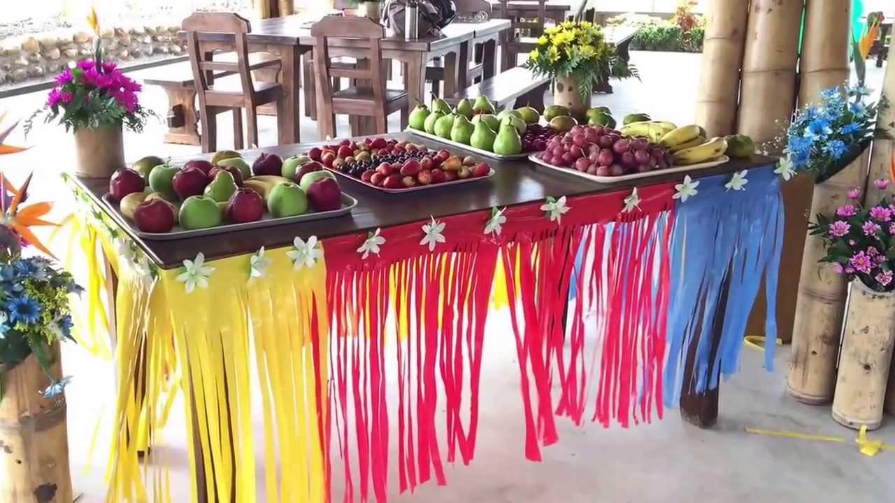 Decoracion Hawaiana Manualidades ~ Decoracion+De+Fiesta+Hawaiana Decoraci?n Hawaiana  Realizada por