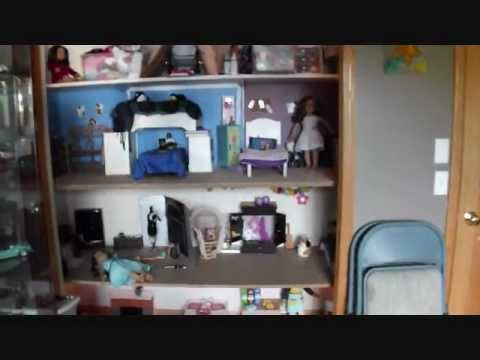 american girl doll house tour 2012 youtube