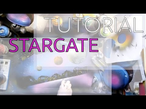 Stargate – SPRAY PAINT ART by Sposito