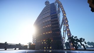 Dubai Hotel/ burj al arab Minecraft Projekt 1.7