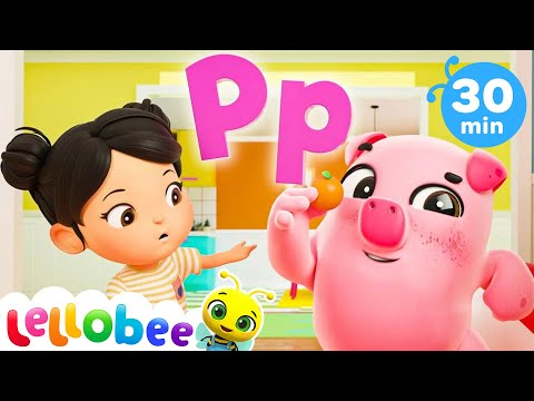 ABC Phonics Song | +More Nursery Rhymes & Kids Songs - ABCs and 123s | Little Baby Bum