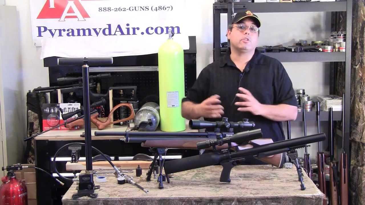 Take AIM Episode #6 - Filling your PCP Airgun