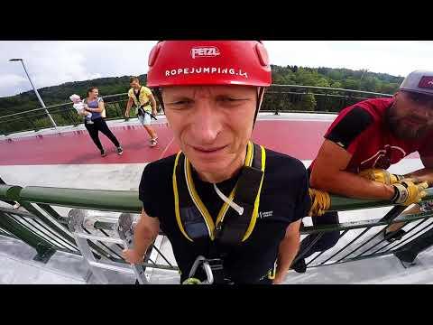 Vygintas Sinkevičius | Ropejumping @ Baltosios Rožės tiltas, Alytus | www.ropejumping.lt