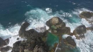 Aruba Natural Pool (Conchi) Drone Footage 5/1/17
