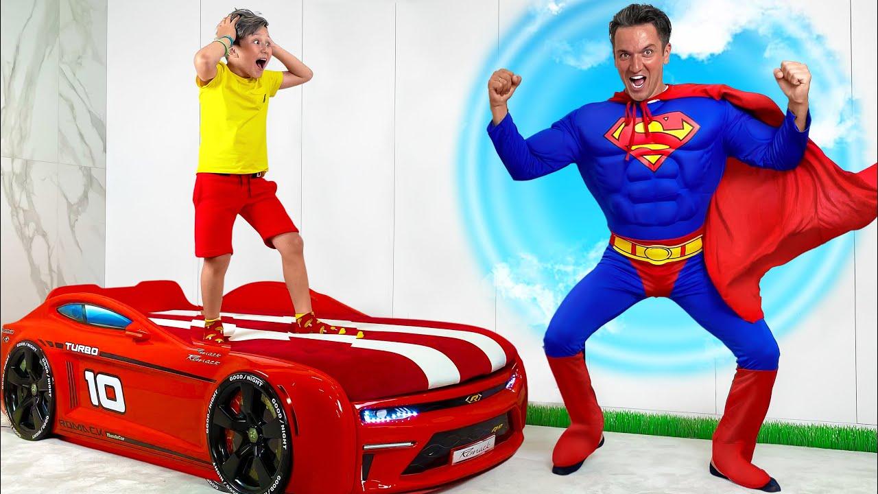 Senya Like Superhero: Educational video for children