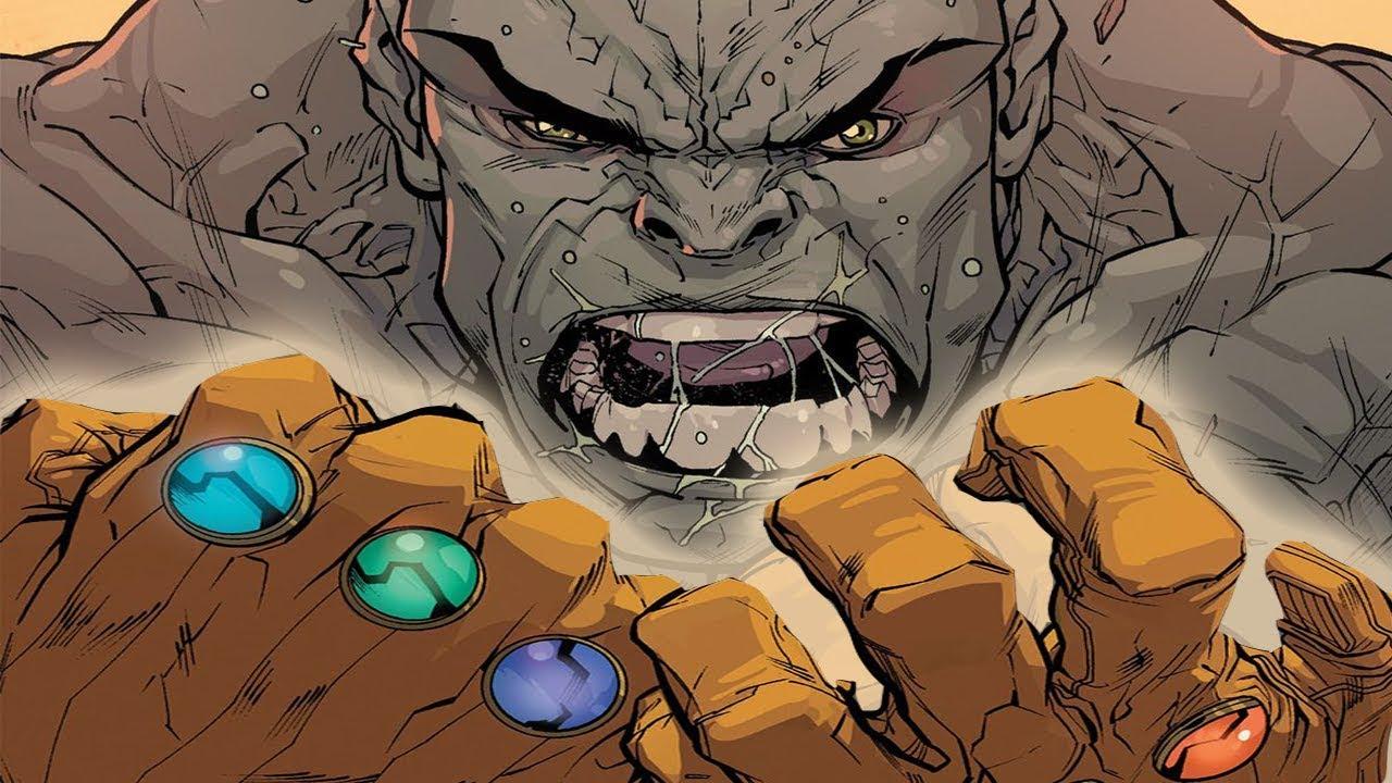 Image result for hulk infinity gauntlet
