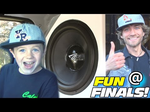 """Funny Little Kid Plays His FAVORITE BASS SONGS w/ EXO's LOUD 18"""" Subwoofer Wall Build & Loudest SPL!"""