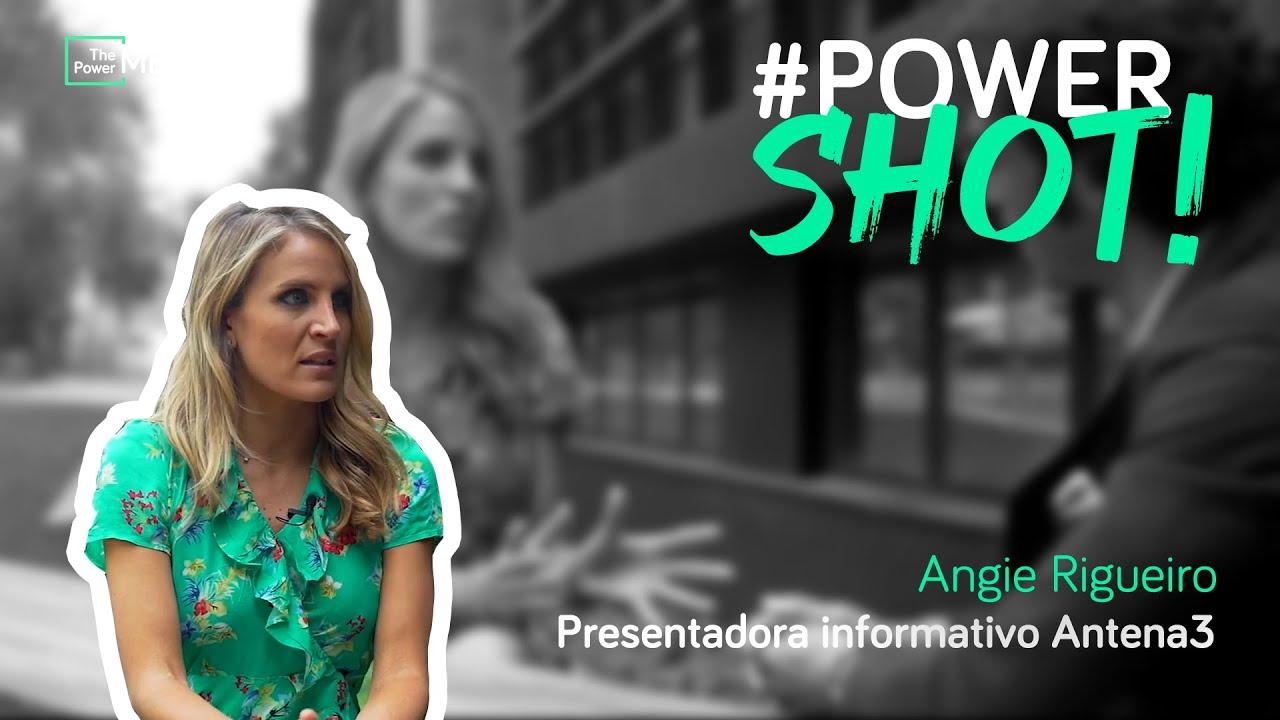 Powershot Angie Rigueiro Presentadora Informativo Antena3 Y