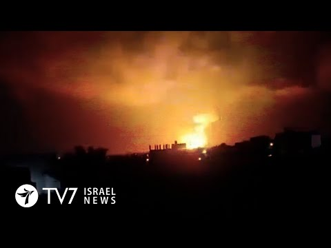 Damascus' outskirts bombed; Israel accuses Iran over freighter attack - TV7 Israel News 01.03.21