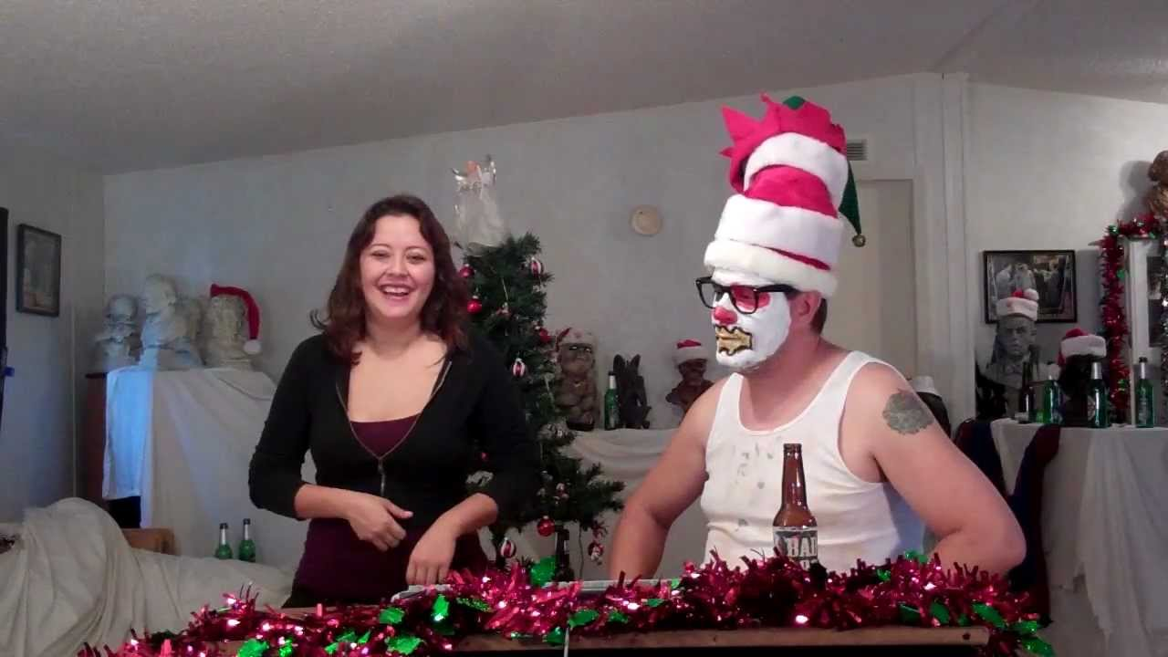 Clown Hosts Christmas Tree Lighting Ceremony With Evil