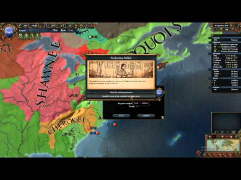 Europa Universalis 4 | The High Americans | Part 24 | Iroquois-Aztec War of Punitive Measure
