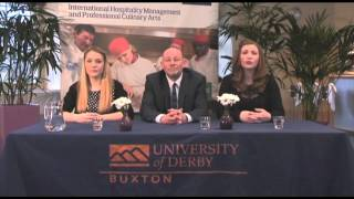 University of Derby Buxton Passion4Hospitality 2014