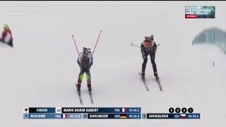 Equipe de France Militaire de Ski :  Le CCH Anaïs Bescond termine 2ème !