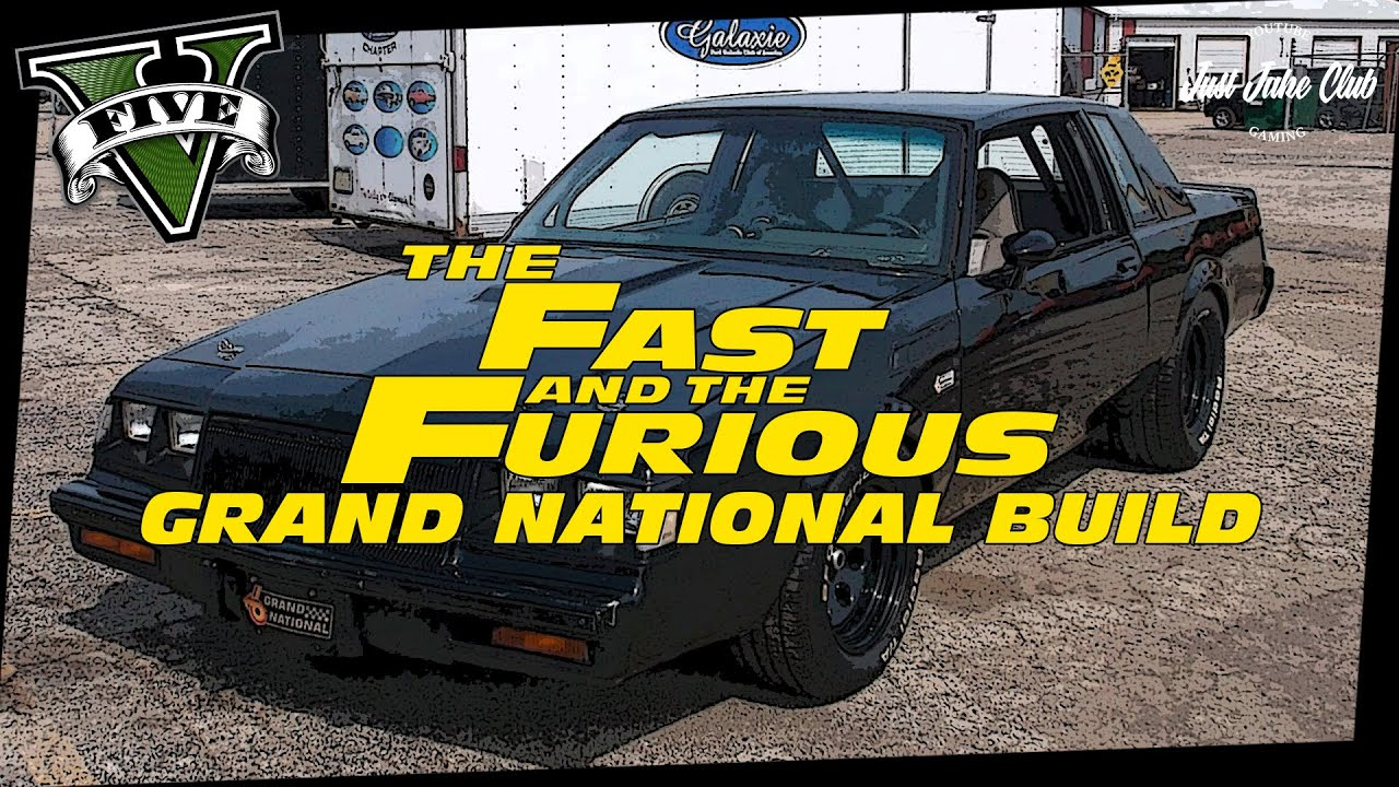 Buick Grand National 2016 >> FAST & FURIOUS 4: BUICK GRAND NATIONAL CUSTOM BUILD ...