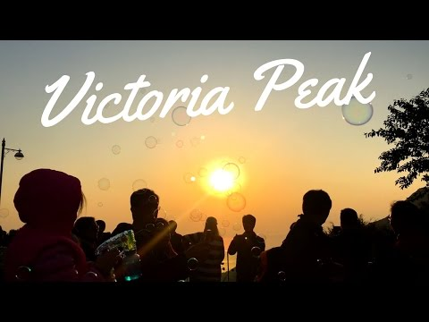 AMAZiNG SUNSET | Victoria Peak | Hong Kong