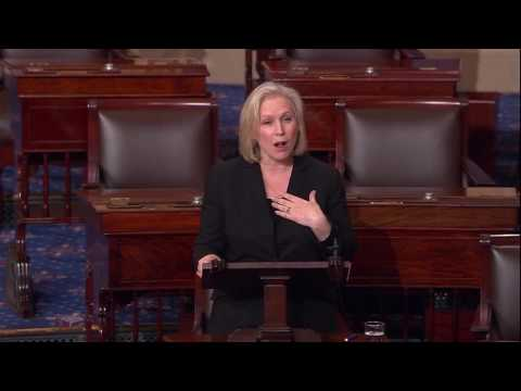 For Anniversary of Roe V. Wade, Gillibrand Delivers Floor Speech Fighting For Women's Health 1/24/17