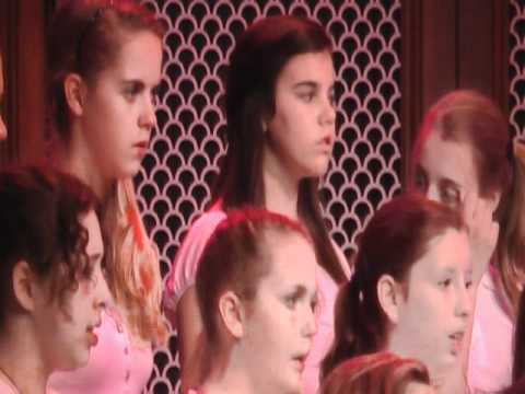 In This Ancient House - Cane Creek Middle School Honors Chorus at Festival Disney 2011