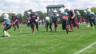 Pierce's first pop warner game 2017 thumbnail