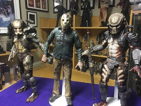 Part 4 Jason 1//4 Scale Action Figure Friday the 13th NECA