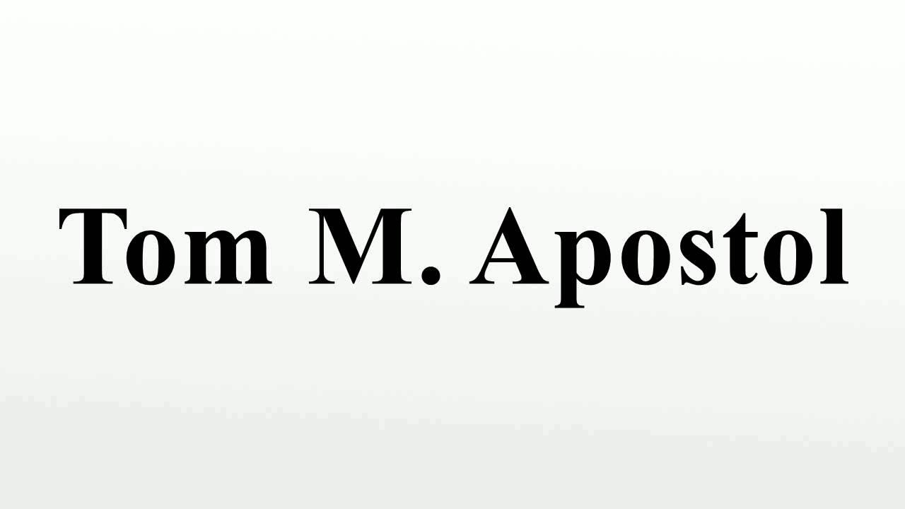 TOM APOSTOL CALCULUS VOL 2 PDF DOWNLOAD