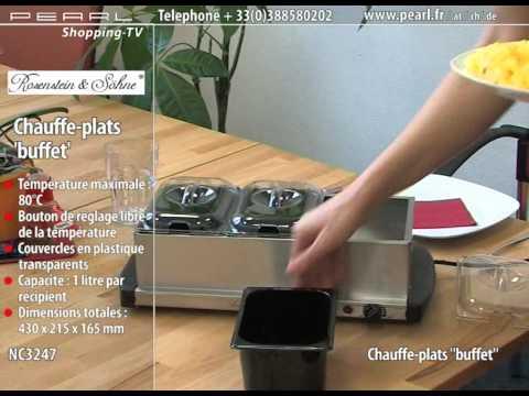 chauffe plats 39 39 buffet 39 39 youtube. Black Bedroom Furniture Sets. Home Design Ideas