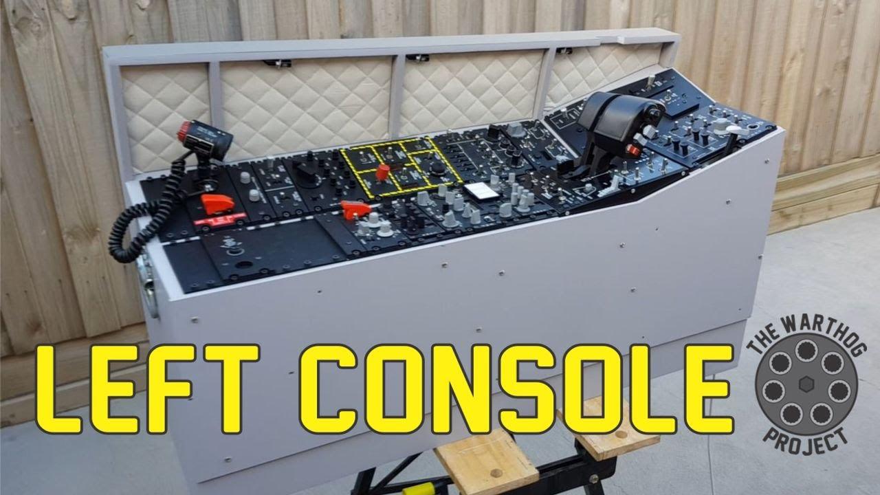 A-10C Flight Simulator - Left Console