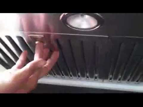 How to clean Baffle Filters - YouTube
