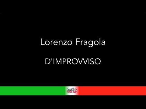 KARAOKE COVER - LORENZO FRAGOLA - D'IMPROVVISO (CORI) BASE MUSICALE #lorenzofragola #dimprovviso