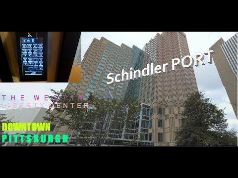 PRICELESS REACTION!!!: CRAZY FAST Schindler Haughton PORTs at The Westin, downtown Pittsburgh