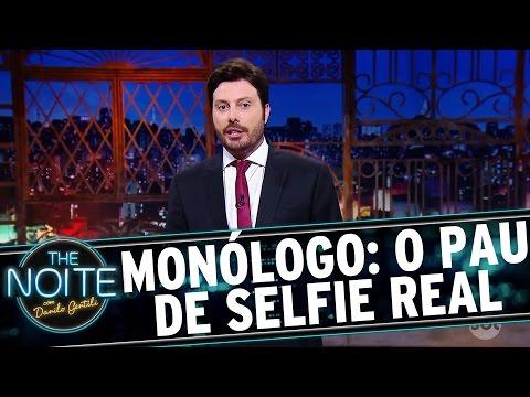 The Noite (15/09/16) - Monólogo: Danilo revela o verdadeiro Pau de Selfie