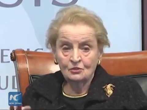 """Madeleine Albright: U.S. """"screwed up"""" on AIIB"""