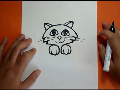 Como dibujar un gato paso a paso 18