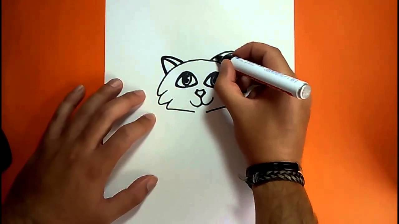 Como dibujar un gato paso a paso 18 | How to draw a cat 18 - YouTube