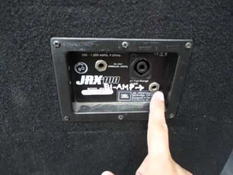 JBL JRX125 Full Range O Bi-Amp