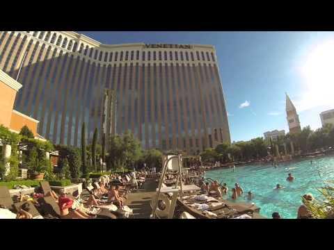 Gorgeous Pool Area at The Venetian, Las Vegas