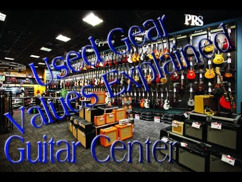 Guitar Center Used Gear Values Explained