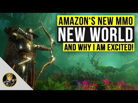 What Is New World? Amazon's NEW MMORPG Looks To Change The Game!
