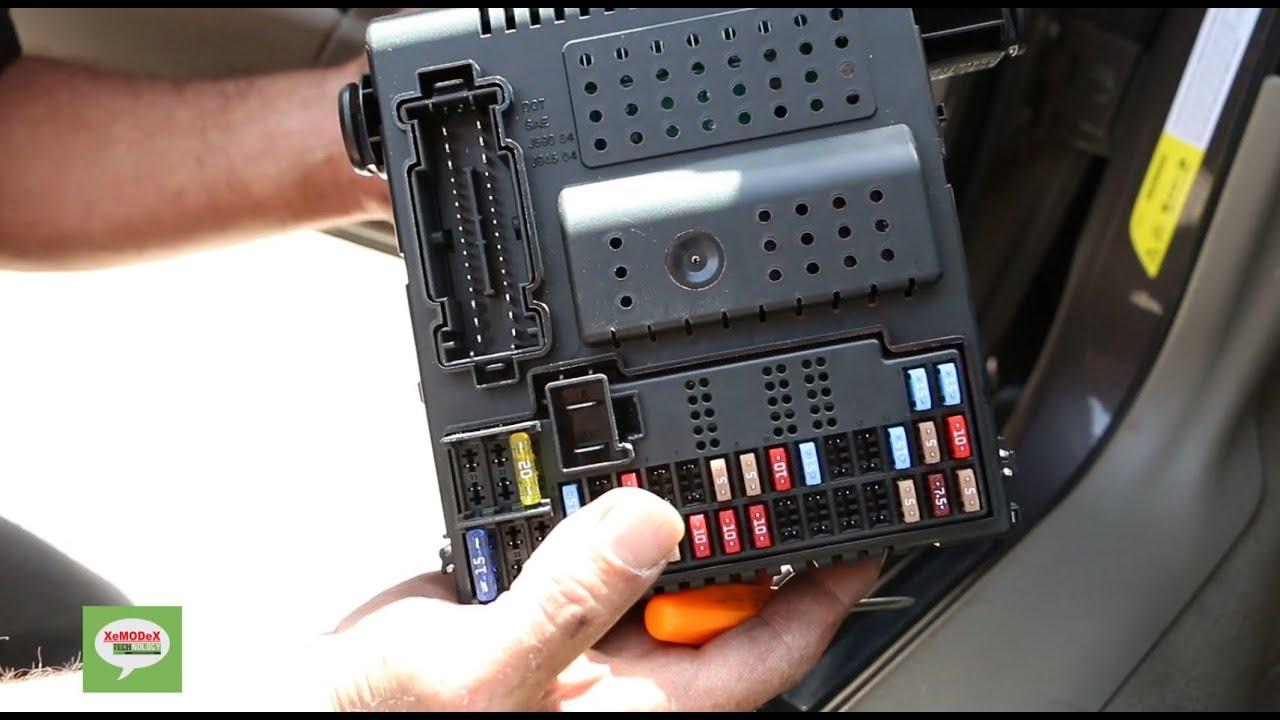 2005 Volvo Xc90 Fuse Box Diagram Volvo Central Electronic Module Cem Removal Procedure For