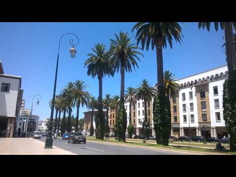 Walking in Rabat Morocco 2016