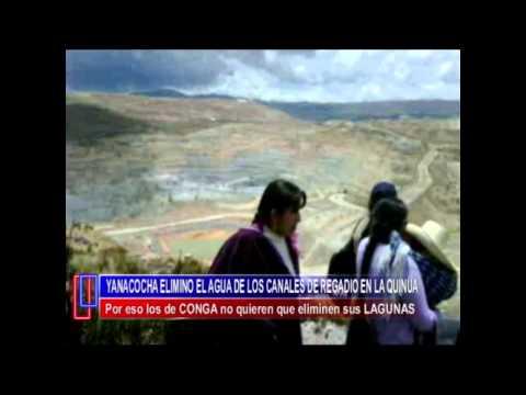Pobladores de Aliso Colorado Visitan su Canal de Regadio en La Quinua Yanacocha