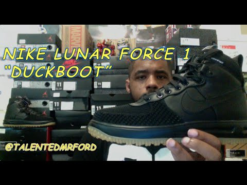 Nike Lunar Force 1 Duckboot Review + On Feet YouTube