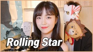 Gambar cover 「블리치 OST / YUI - Rolling Star」 │Covered by 달마발 Darlim&Hamabal