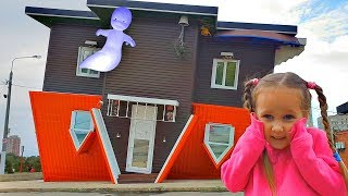 Trolls in the Upside down house Video for kids from Yulya