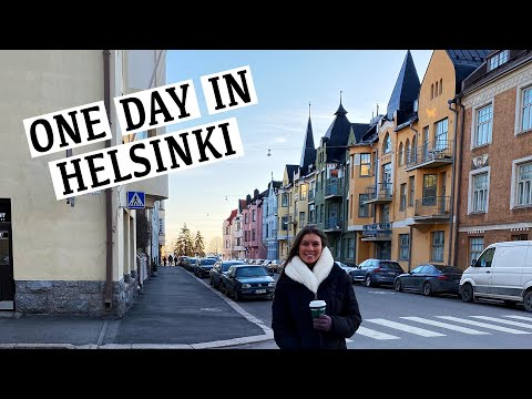 One Day In Helsinki Finland - Top Things To Do In The Winter!