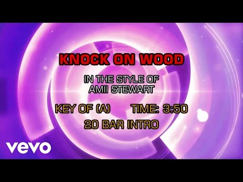 Amii Stewart - Knock On Wood (Karaoke)