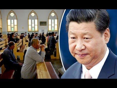 Autoridades Chinas intervienen iglesias cristianas criminalizando a aquellos que se niegan a aceptar a Dios Estado.
