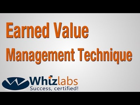 Earned Value Management Technique | PMP Certification