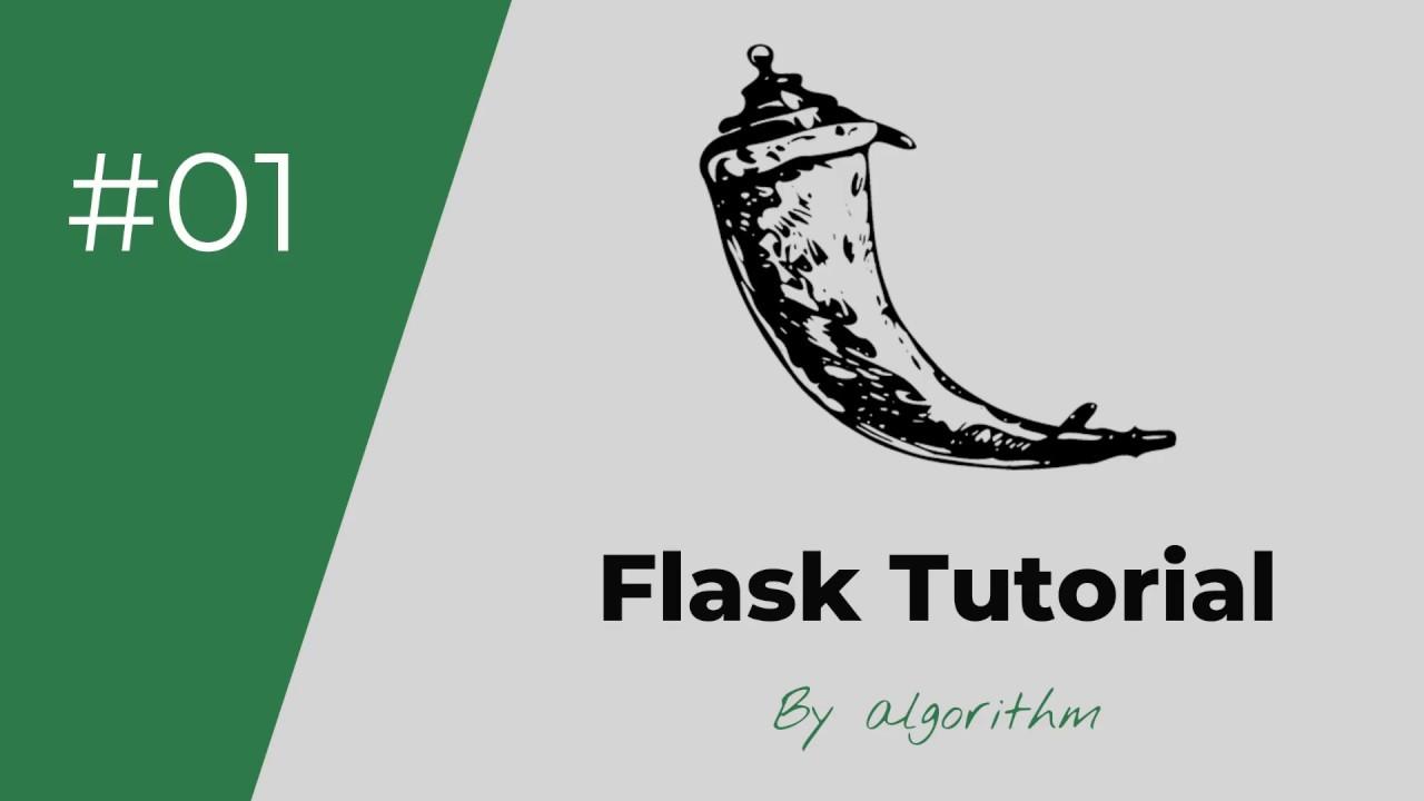 الدرس #01 - مقدمة دورة flask